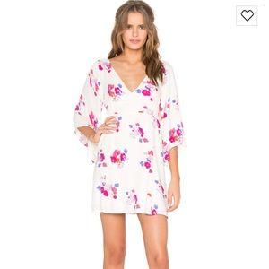 MINKPINK Falling Blooms Smocked Dress